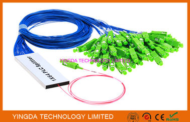 China 1/16 Faser Optik-Breitband-FTTH Koppler 1 x 16 des PLC-Teiler-Band- usine